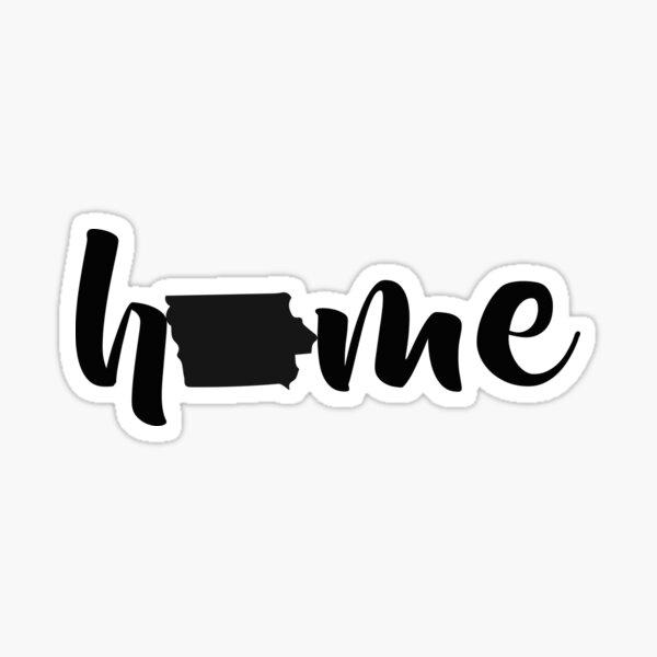 Iowa State Home Sticker