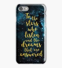 ACOMAF - To the Stars Who Listen And the Dreams that are Answered iPhone Case/Skin