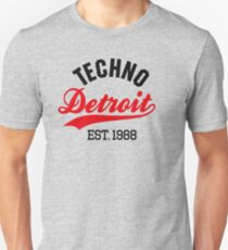 Techno Detroit est.1988 Unisex T-Shirt