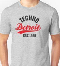 Techno Detroit est.1988 T-Shirt