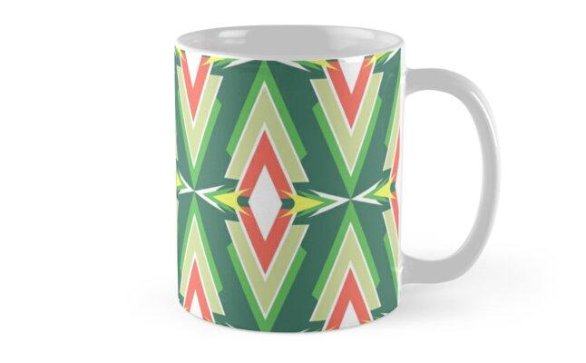Scandinavian Aztec Pattern by MyArt23
