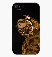 Draped In Bape (Black) iPhone 4s/4 Case