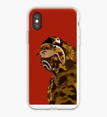 Draped In Bape (Red) iPhone Case