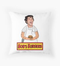 Bob Morley's Burgers - Charity Project Throw Pillow