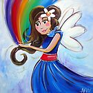 Rainbow Fairy by Anna Bartlett