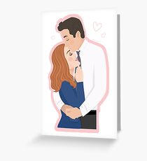 Mulder and Scully - The X-Files Greeting Card