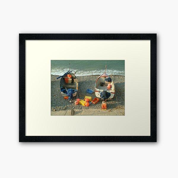Sheringham Fishing Boats Framed Art Print