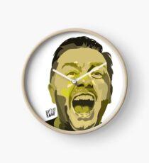 Ricky Gervais Illustration  Clock