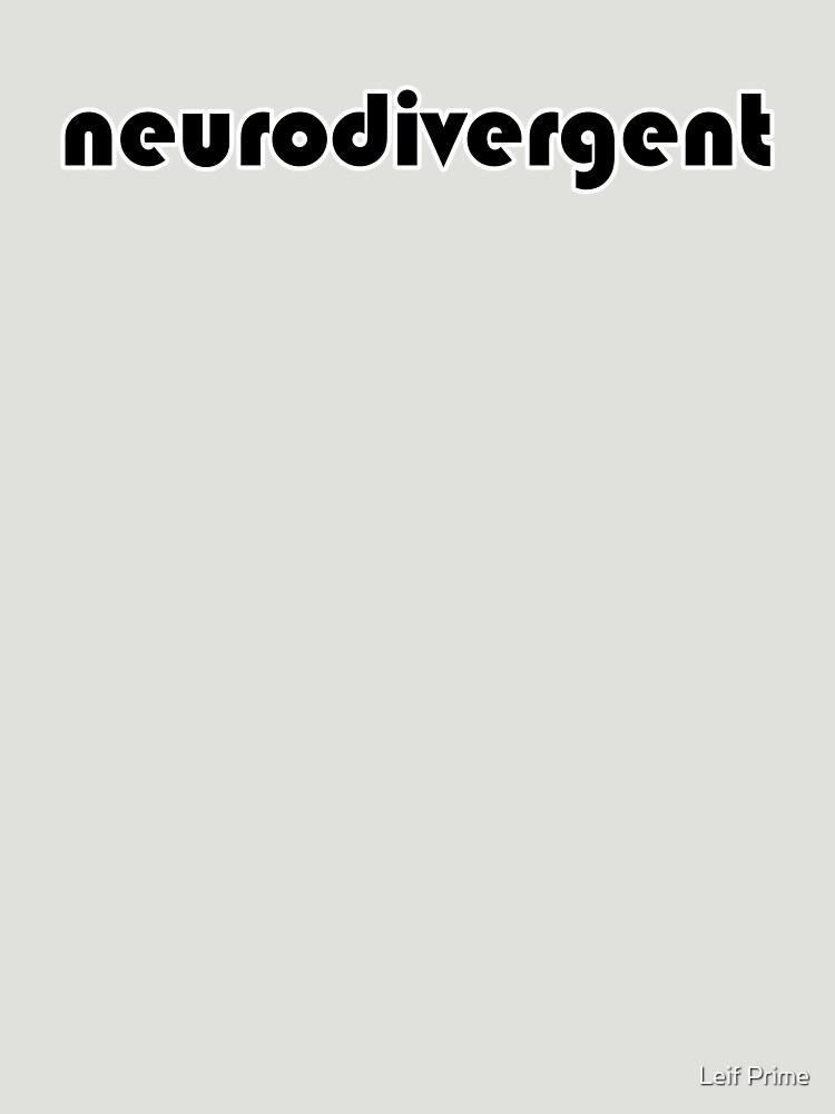 neurodivergent by leifleif