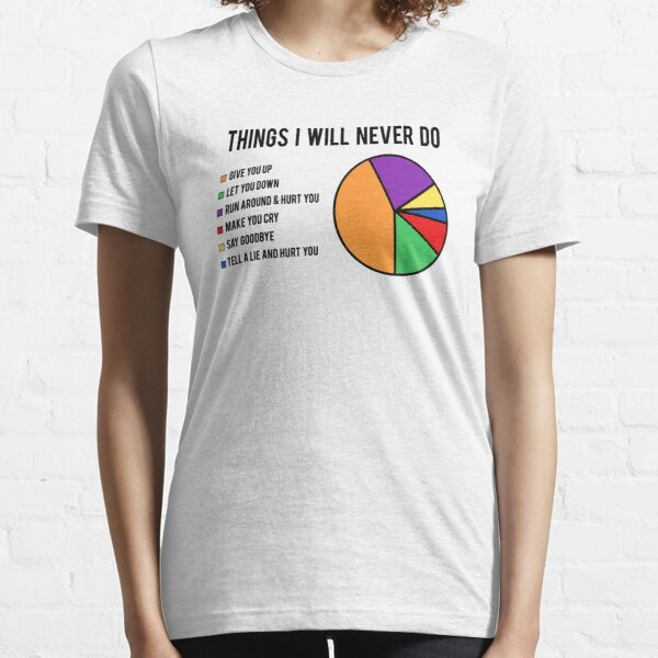 Things I will never do Essential T-Shirt