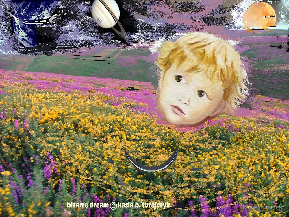 Boltzmann Child is watching you  by Kasia B. Turajczyk