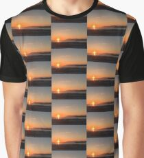 Sunset Glow Graphic T-Shirt