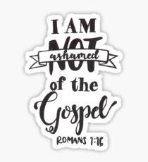 Romans 1:16 Sticker