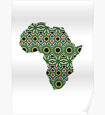 Africa Pattern Poster