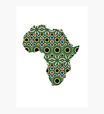 Africa Pattern Photographic Print
