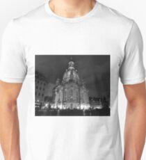Frauenkirsche, Dresden (Black and white) T-Shirt