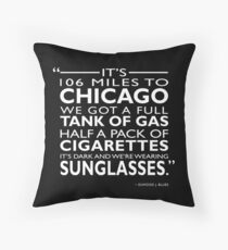 Its 106 Miles To Chicago Throw Pillow