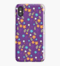 Mystery Inc Pattern (Purple) iPhone Case/Skin