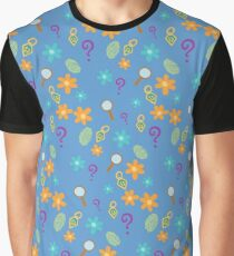 Mystery Inc Patter (Blue) Graphic T-Shirt