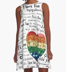 Love foreign languages A-Line Dress