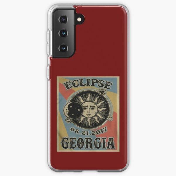 VINTAGE GEORGIA SOLAR ECLIPSE 2017 SHIRT Samsung Galaxy Soft Case
