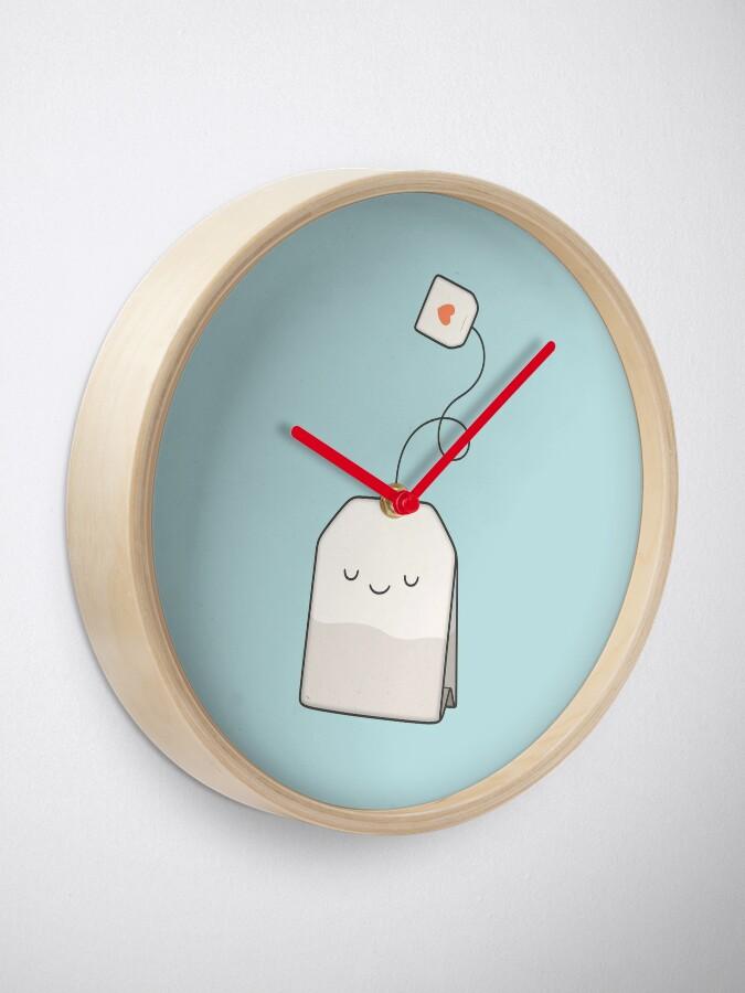 Alternate view of Tea time Clock