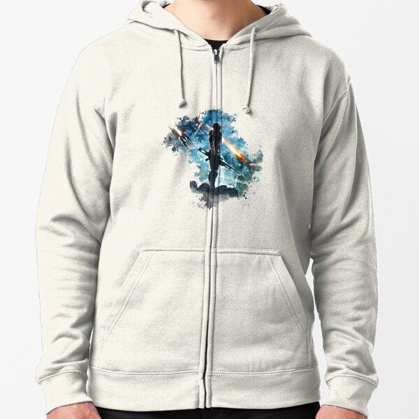 Mass Effect Zipped Hoodie
