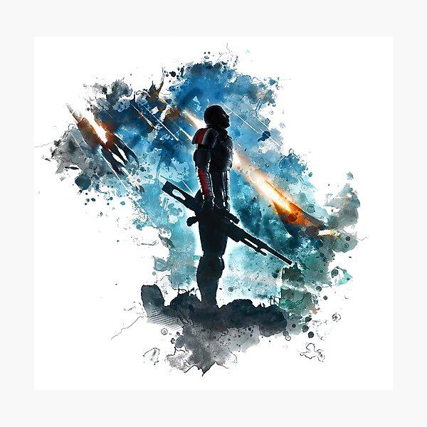 Mass Effect Photographic Print