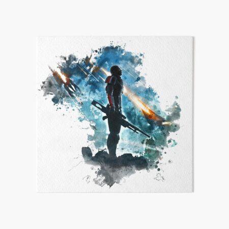 Mass Effect Art Board Print