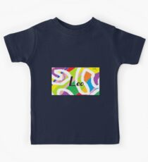 Leo -original artwork to personalize your gift Kids Clothes