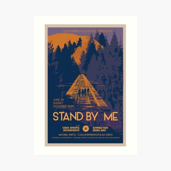 STAND BY ME: Cold Spring Film Society 2017 Season Poster Lámina artística