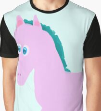 Pink horse Graphic T-Shirt