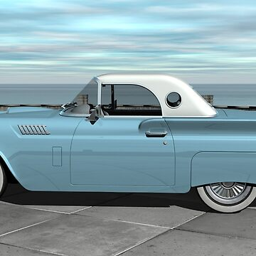1957 Ford Thunderbird by Skyviper