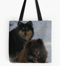 finnish lapphund group Tote Bag
