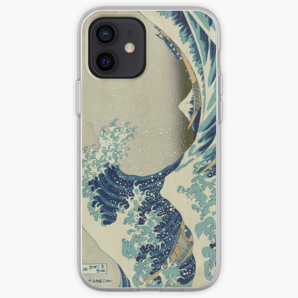 The Classic Japanese Great Wave off Kanagawa by Hokusai iPhone Soft Case