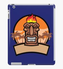 Tiki Vector iPad Case/Skin