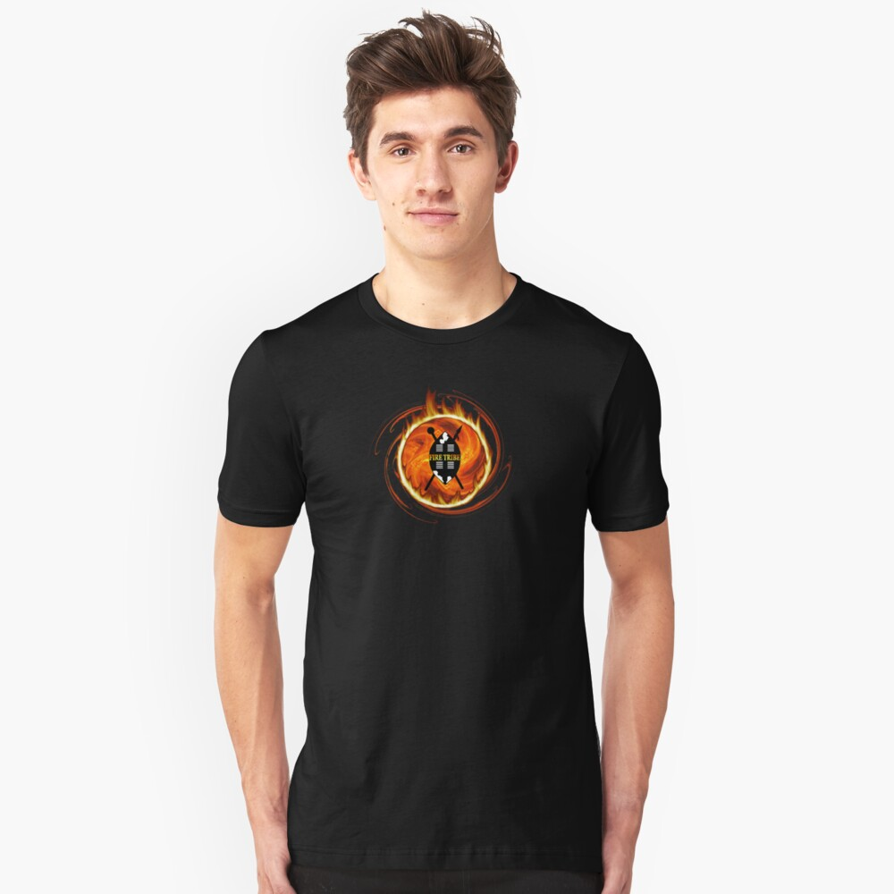 FIRE TRIBE Unisex T-Shirt Front