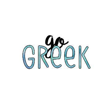 Go Greek by divinefemme