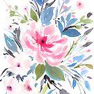 Nara - floral print by gfstudio