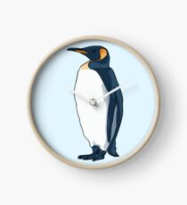 King Penguin Clock