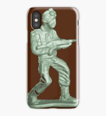 Plastic Toy Soldier iPhone Case/Skin