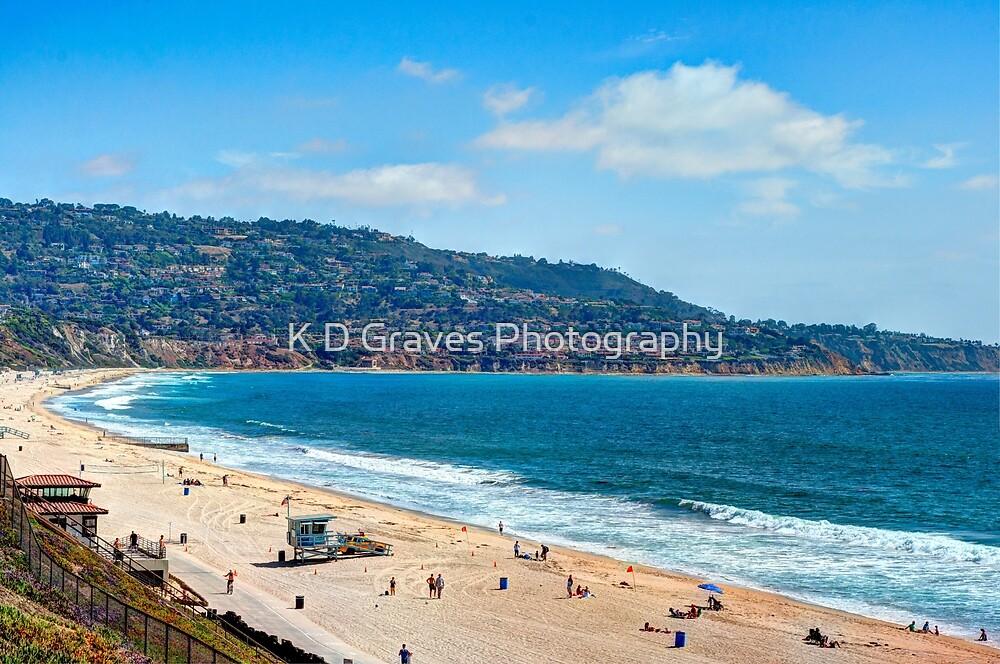 Torrance Beach California by K D Graves Photography