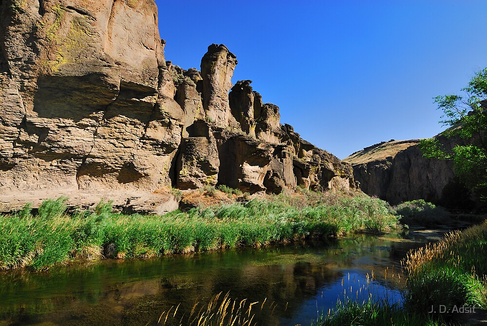 Lazy Canyon Flow by J. D. Adsit