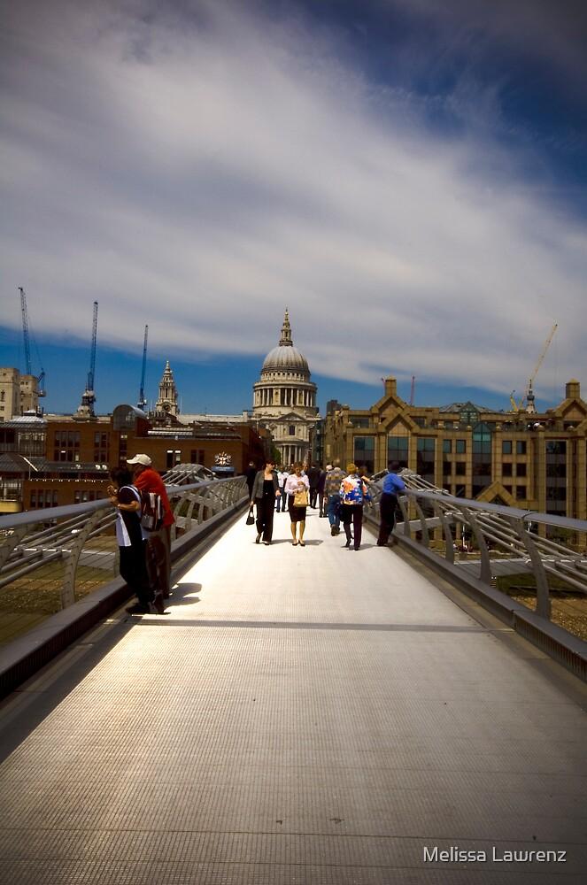 On the Bridge by Melissa Lawrenz