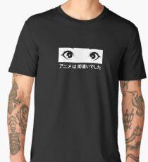 Anime was a Mistake Eyes Men's Premium T-Shirt
