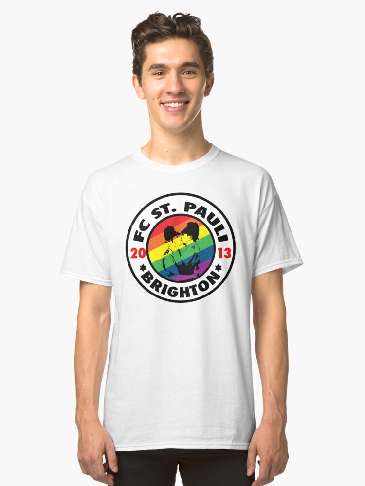 Pride - Brighton St Pauli Classic T-Shirt Front