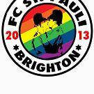Pride - Brighton St Pauli by brightonstpauli