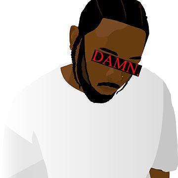 Kendrick Lamar Damn TDE by Robman313