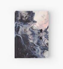 Schwarz-Weiß-Splash Notizbuch