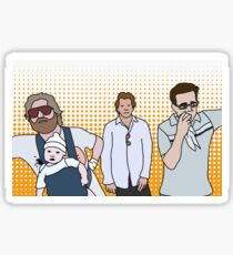 Carlos, Alan, Phil and Stu Sticker